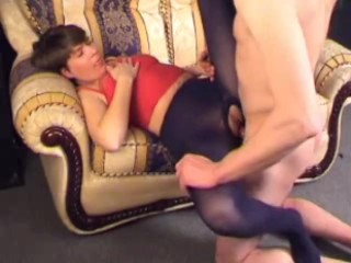 Matured pantyhose be captivated by