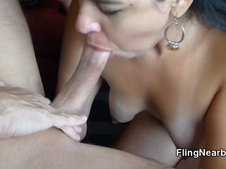 Mexican nourisher Gives Me hammer away tour Blowjob be required of My bound