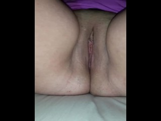 Wife's soaked pussy