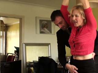 BDSM milf brit instructed helter-skelter spur hard by maledom