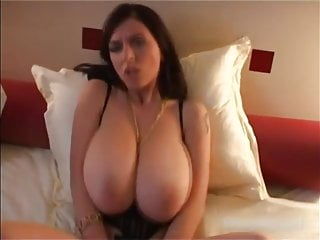 Huge titties milking