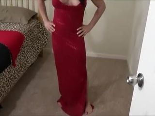 Step mother attempts dresses - Gets humped & creamed (Alexis Rain)