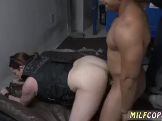 Cougar fellate job drink super hot unexperienced sharing We put his bum to work and
