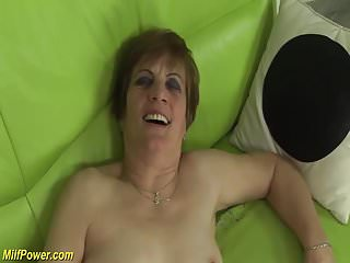 Redhead granny gets bottomless gulf fucked