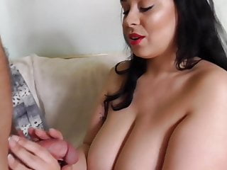 Magnificent wooly plus-size mommy takes large pecker
