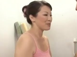 Honcho Japanese Milf with the addition of pubescent Boys