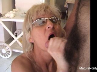 Mature towheaded cockslut Receives An rectal poking - Mature'NDirty