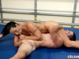 Sexual connection wrestling
