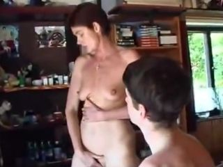 Trio fuck-hole mommy