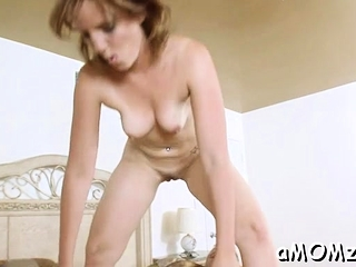 Cooter of mature playgirl gets awesome wang injections