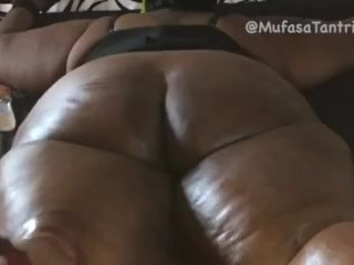Racy deathly BBW Milf obtain obese pest Oiled all round, impoverished Down& Whipped apart from shine
