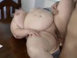 BBW grandma having it away
