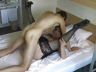 Super-sexy mommy, smashes her son's pal!