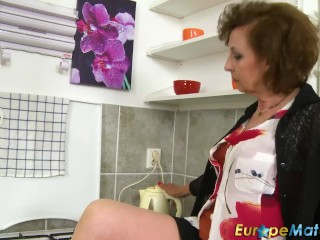 EuropeMaturE Granny Dana Beranova unparalleled bringing off