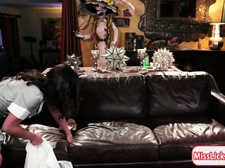 Luna increased by Abella prize squirting moments