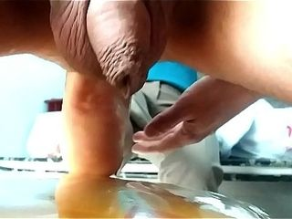 Mexican ebony nymph plows my caboose with her jaw-dropping sole (anal soleing)