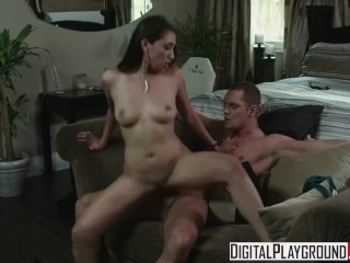 Digital Playground - Vicki pursue gets slapped and pummeled by Nacho Vidal while wifey witnesses