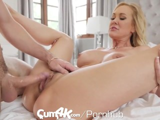 CUM4K hottest internal cumshot screw with Brandi enjoy
