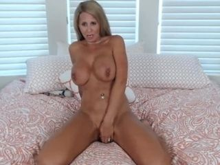 Fuckin steaming mature platinum-blonde Ainslee rails fuck stick rock-hard n jizzes