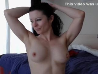 Black-haired unexperienced wifey displaying Her jugs