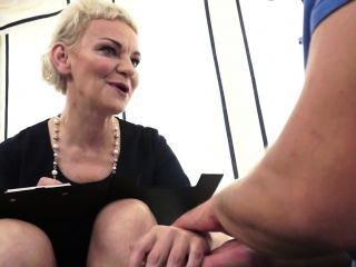 Euro matures hairypussy fucked and jizzed