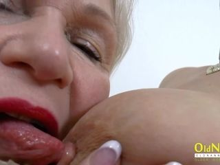 OldNannY several super Meaty tribade Milfs carrying-on