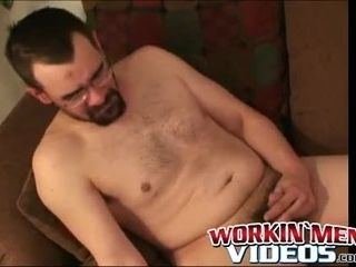 Nerdy grown-up amateurish factory exposed to potentate unearth till such time as he cums