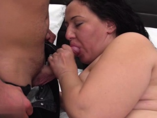 Sizzling mature bj with cum-ssizzling