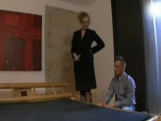 Pulchritudinous french stepmom