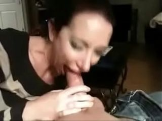 Grown-up milf homemade flannel sucking
