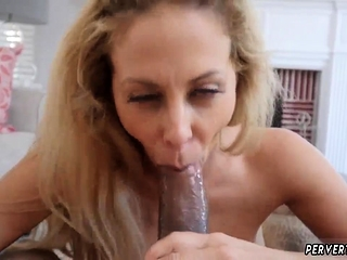 Mummy blowage Cherie Deville in inseminated By My