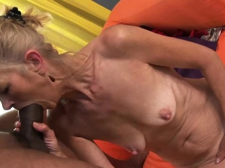 Simmering granny wants give realize blacked