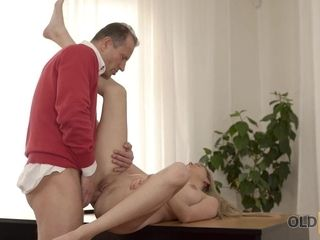 Older4K. Cute older and youthful flick in which skillful boy penetrates
