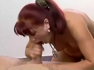Frying homemade charm, Redhead mature instalment
