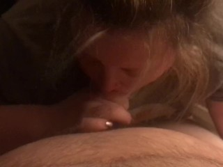 Oral pleasure from the wifey