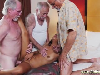 Mature restaurant hot massive cumshot
