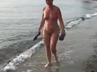 Nude ramble on beach