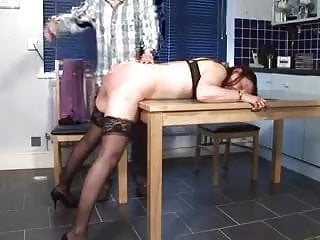 Grown up spanked