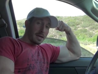 Biceps in truck Window $h@ke easily YT
