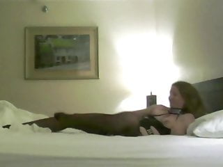 Wifey Poses and boinks in motel bedroom
