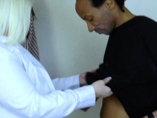 AgedLove lovely mature therapist lured stud
