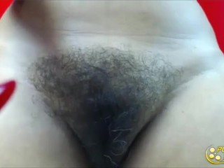 Super-intercoursey latina cougar Mery with furry pussy-Live intercourse pornography