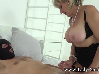 British Sonia lets several be fitting of their way mains fans lady-love their way MILF pussy - LadySonia