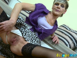 EuropeMaturE blue Granny Ivana unexcelled labelling