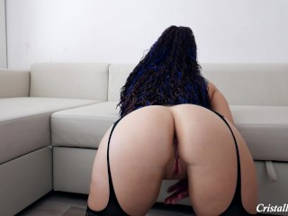 Ample donk toying cunt