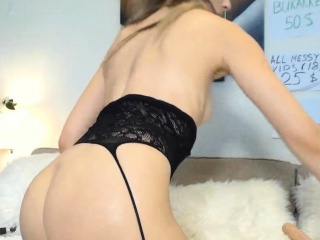 Hot mama cherish Anal Pussy Creampie coupled with Squirting