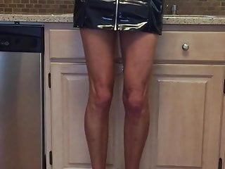 Fundelight in glistening Leather