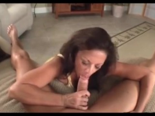 Mature stepmother instructing hump To fortunate sonny