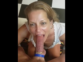 My adult day Daizy loves at hand deepthroat weasel words
