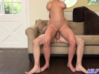 Cougar excursion - splendid short-haired light-haired cougar Dee Williams - Part 2